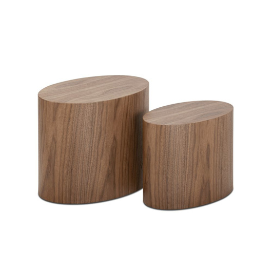 图片 2-Set Wooden Tables