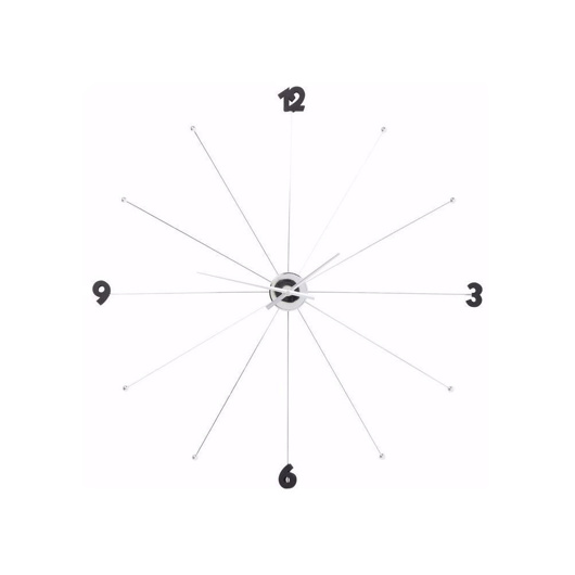 图片 Umbrella Like Wall Clock - Chrome