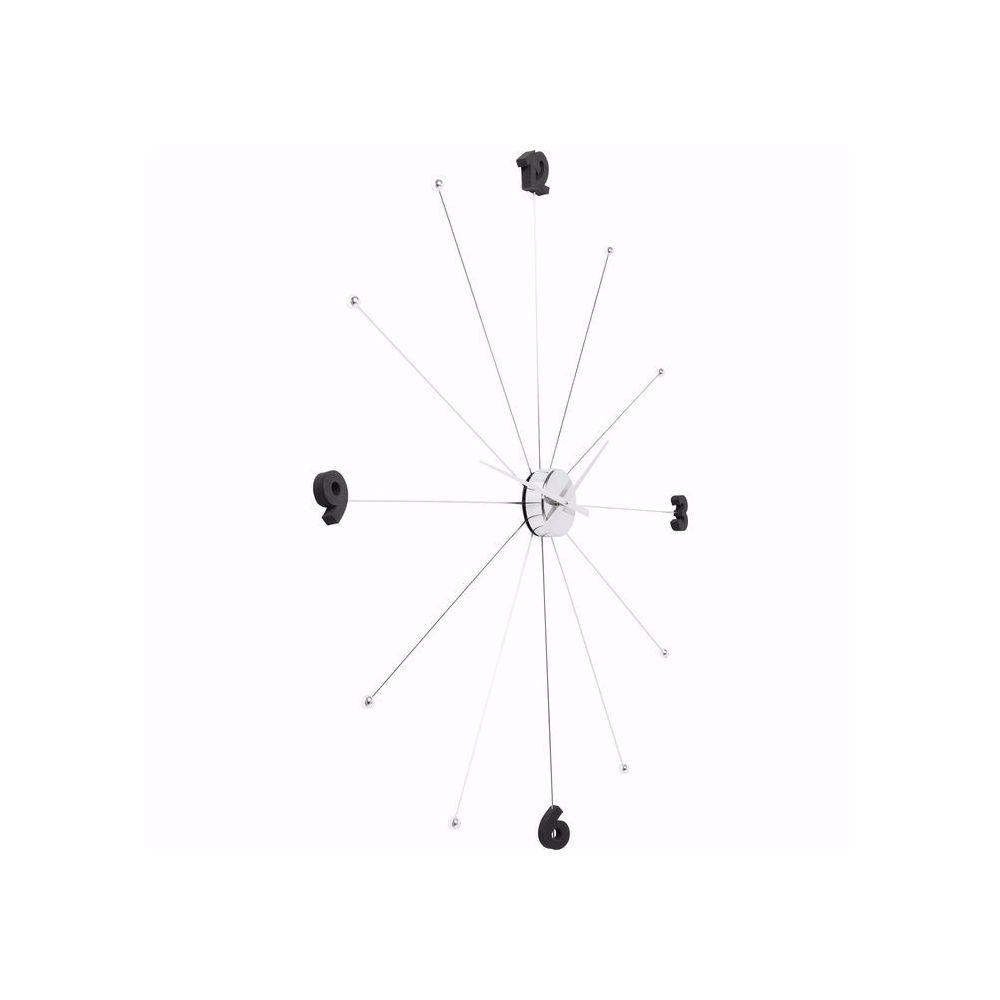 图片 Umbrella Like Wall Clock - Chrome