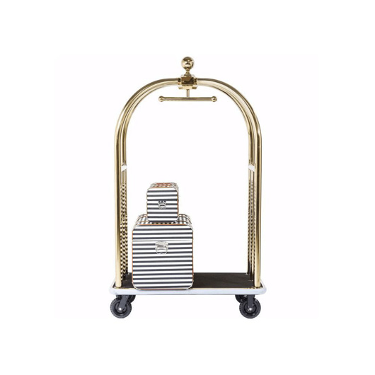 图片 VIP Vegas Luggage Trolley - Gold