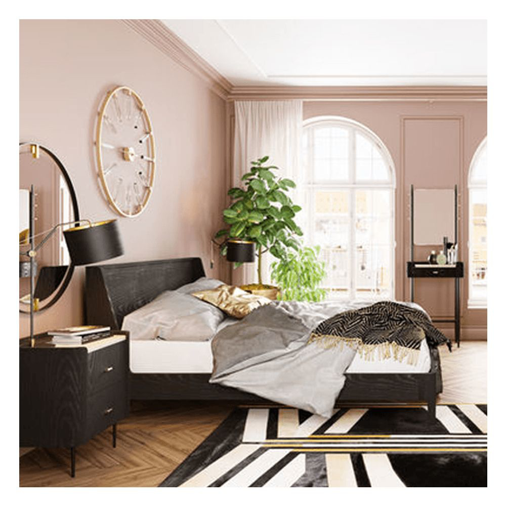 Picture of MILANO Wooden Bed - King