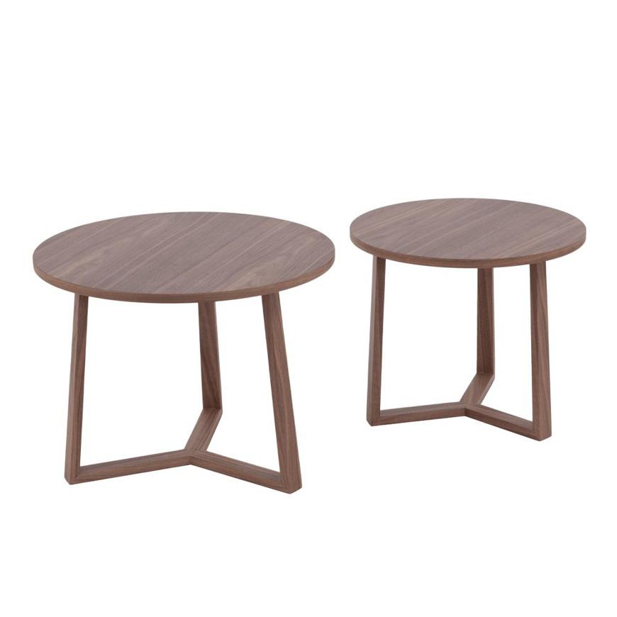 Image sur 2-Set Wooden End Tables