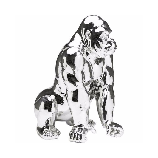 Picture of Gorilla Deco Figurine - Chrome