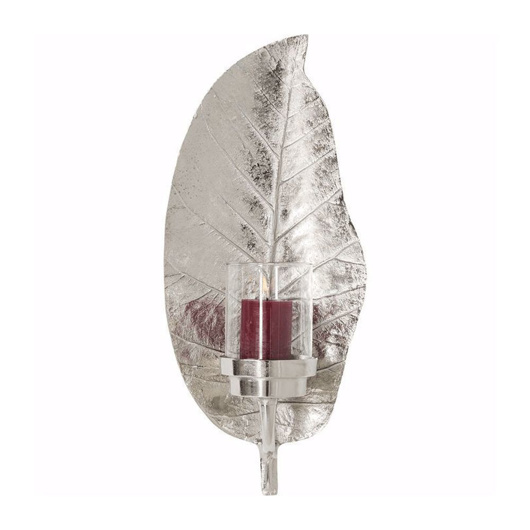 Picture of Leaf Lantern - Silver