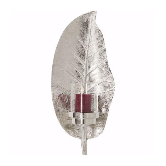 Image de Leaf Lantern - Silver