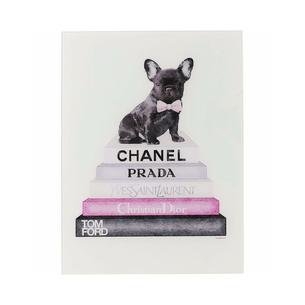 Image sur Fashion Dog Glass