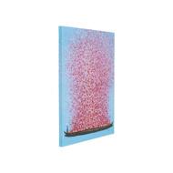 图片 Flower Boat 100 Hand Touched - Blue+Pink