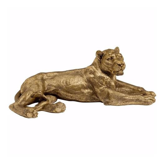 图片 Golden Lion Deco Object