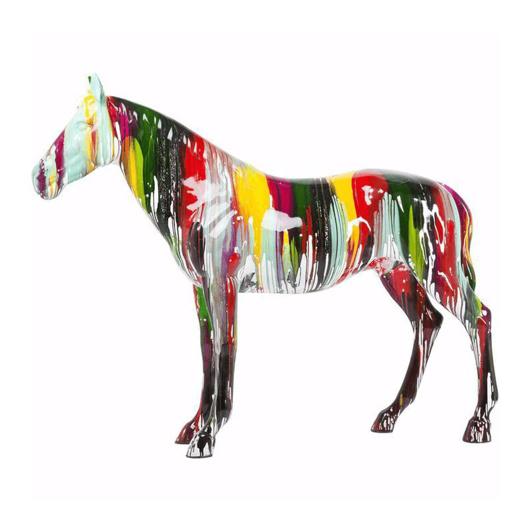 图片 Horse Colore Figurine