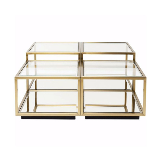 图片 Luigi Modular Coffee Table - Gold