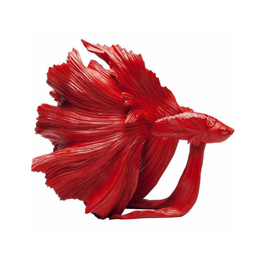 Picture of Red Betta Fish - Small
