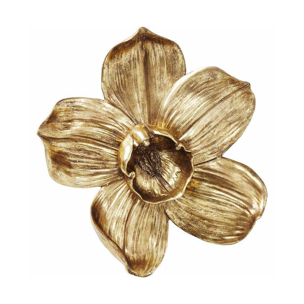 Picture of Orchid 44 Wall Decoration - Gold