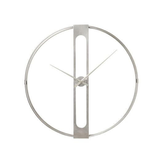 Image de Wall Clock Clip Silver