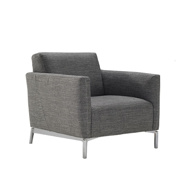 Picture of TRATTO Arm Chair - Grey