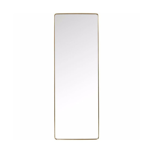 Image de Curve 200 Rectangular Mirror - Brass
