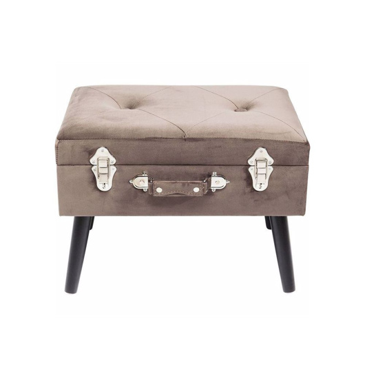 Picture of Suitcase Foot Stool - Grey